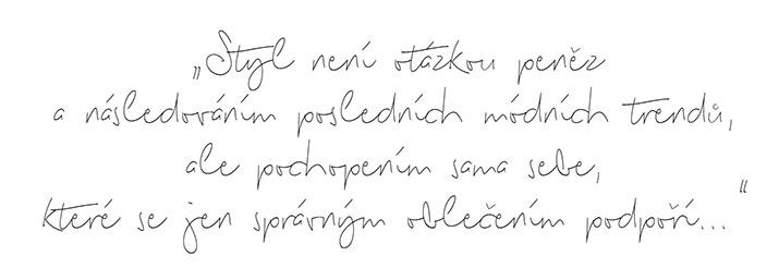 Motto Ireny Vokrojové