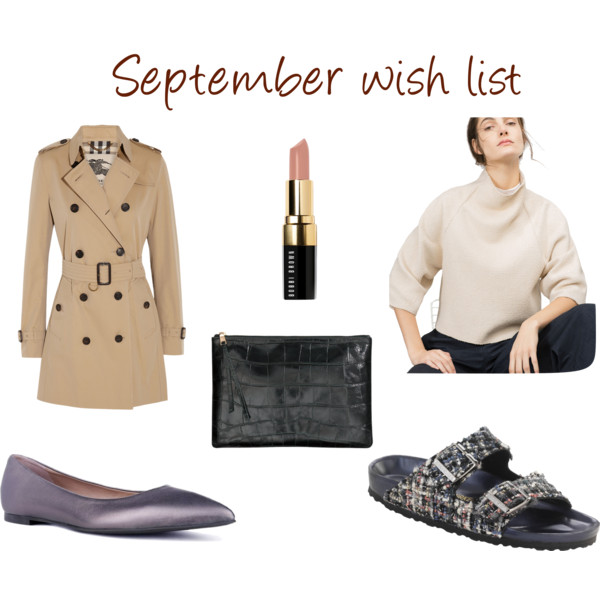 September wish list