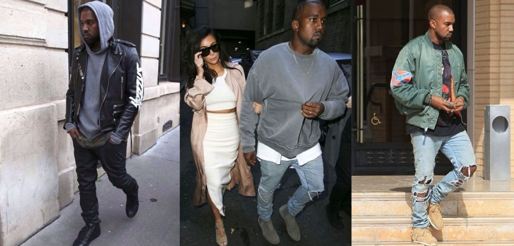 Kanye West 3x